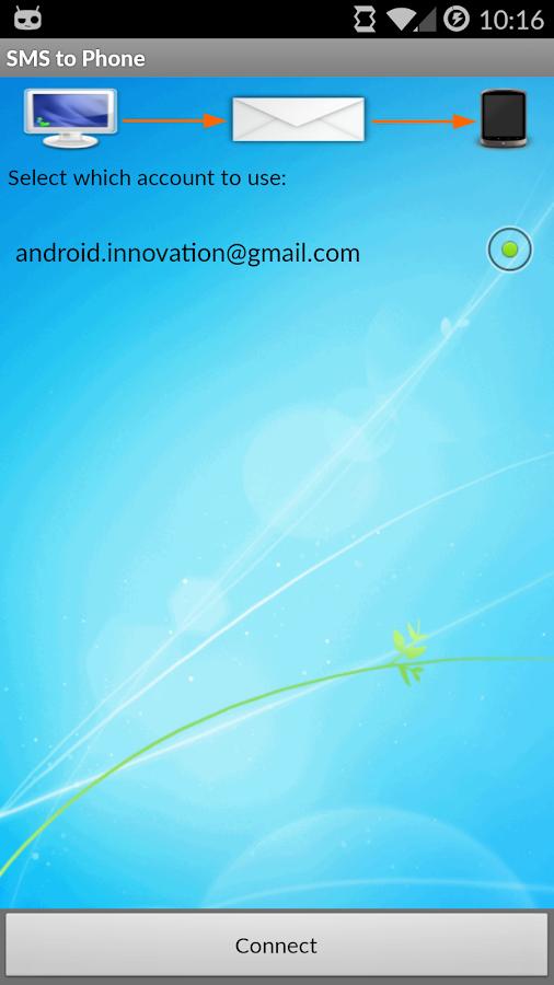 SMS to Phone - screenshot