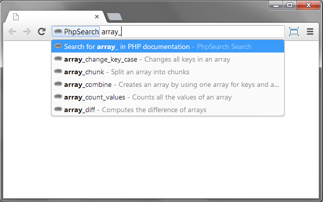 PHP Search