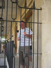 Photo: Jim behind bars
