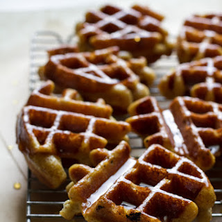 Honey Dipped Doughnut Waffles