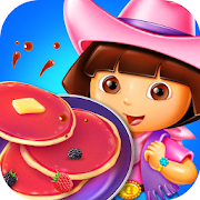 Game Sweet Dora Pancake Tower: Fantastic Rainbow Maker APK for Windows Phone
