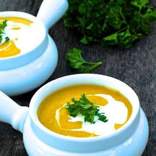 Healthy Creamy Vegetable Soup Recipes.