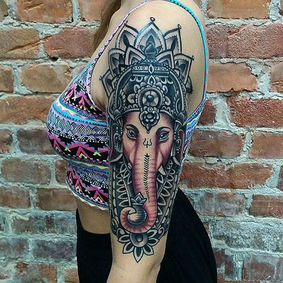 Tattoo Designs Ganapati: 50 Beautiful Ganesha Tattoos Designs And Ideas With Meaning