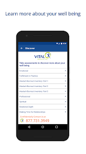 Vital Worklife Mobile- screenshot thumbnail