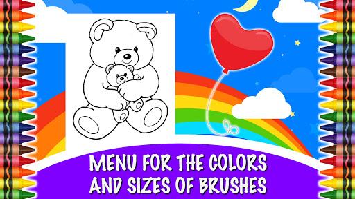 Loving Bears Coloring Book