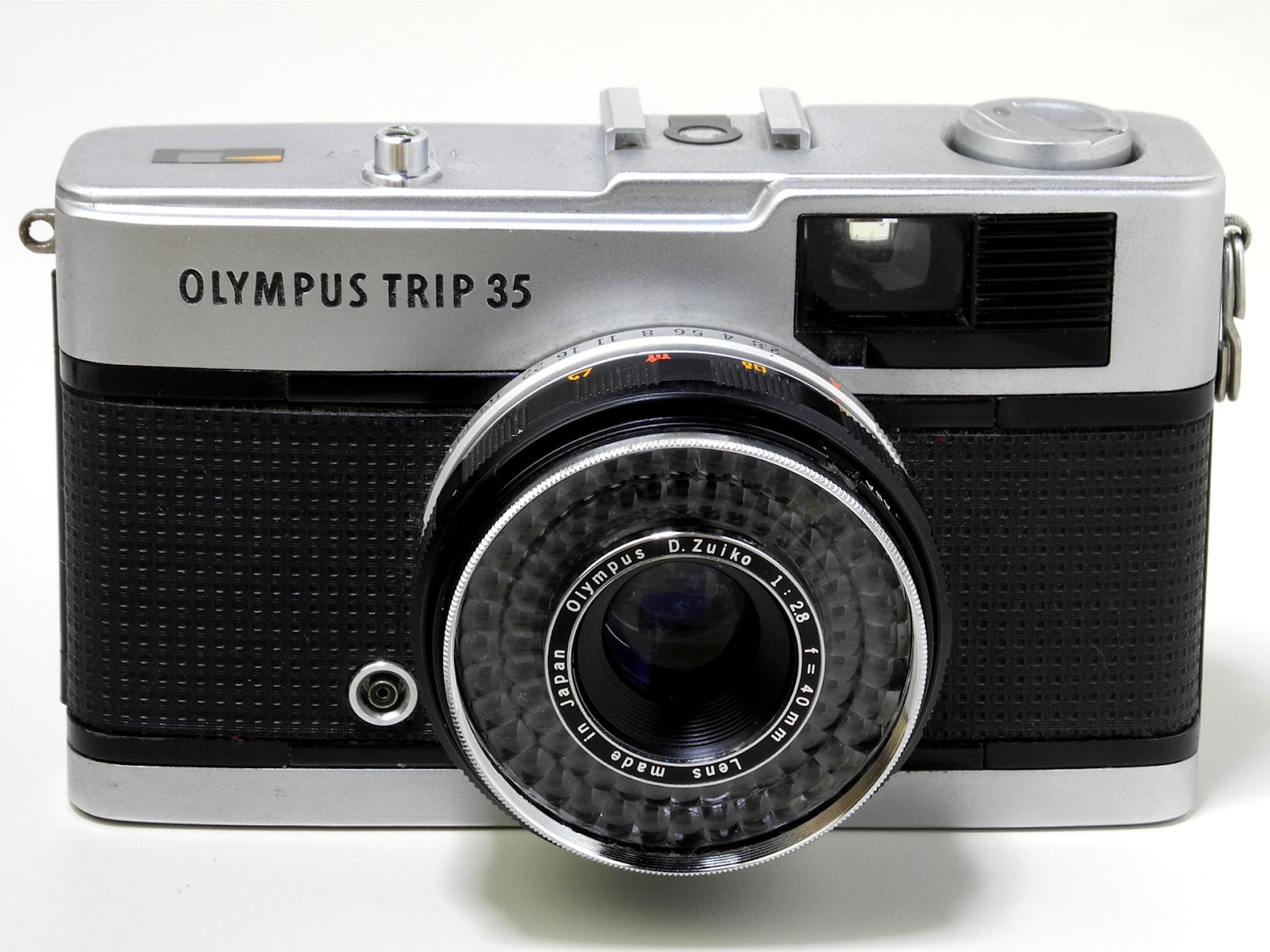 A photo of the Olympus Trip 35 film camera