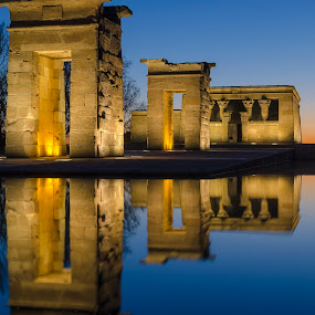 Debod by Filippo Bianchi - Buildings & Architecture Statues & Monuments
