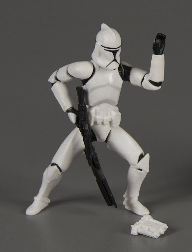 Action figure:Star Wars Clone Wars: Clone Trooper III - Clone Trooper Army