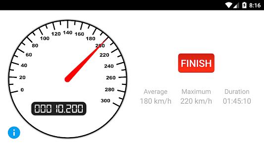 Stats Motion - Speedometer screenshot 2
