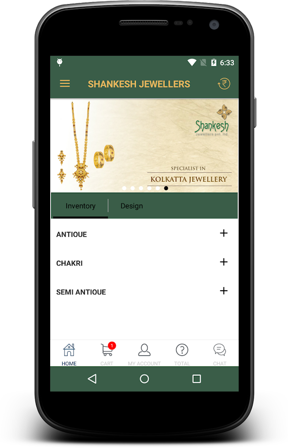 Shankesh Jewellers- screenshot