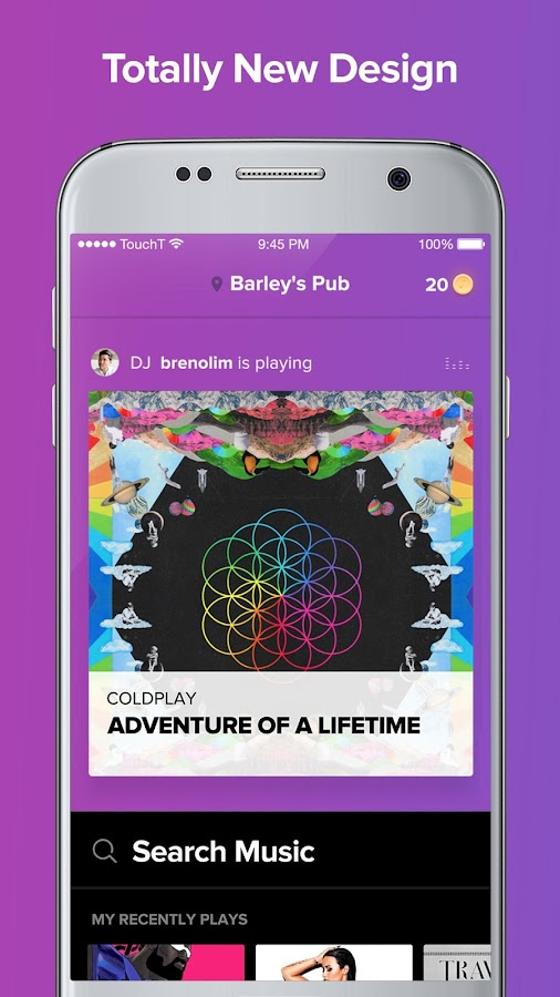 TouchTunes- screenshot
