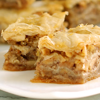 Apple Maple Baklava