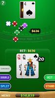 Screenshot of Blackjack