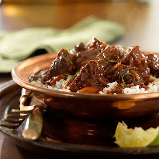 Cider-and-Beer-Braised Pork with Chocolate Mole.