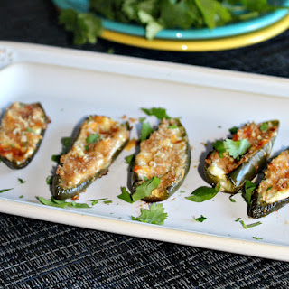 Baked Jalapeno Poppers - Lightened Up.