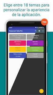 Password Safe and Manager - Datos Seguros Screenshot