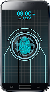 Trone Fingerprint lock prank screenshot 0