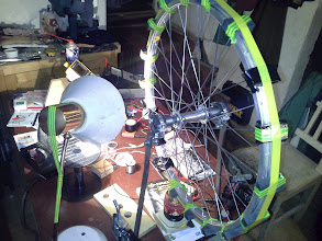 Photo: NEVER UNDERESTIMATE A FLYING MAGNET :D I learned it fast. Believe me , you will too. It hit the coil then it took the whole circuit with it. I experienced it :D