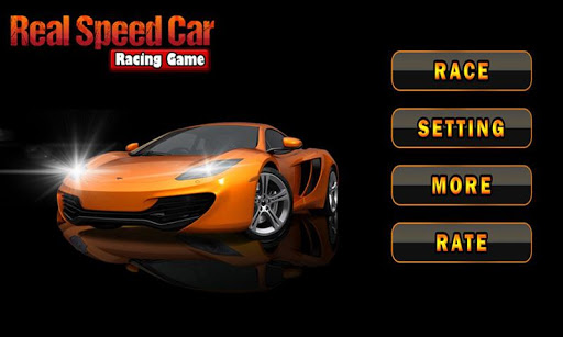 Real Speed Car Racing Game