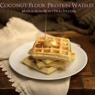 Coconut Flour Waffle.