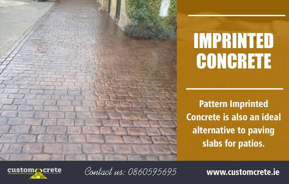 Imprinted Concrete