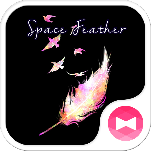Simple Theme-Space Feather- Icon