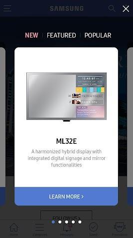 SAMSUNG Display Solutions Screenshot