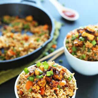 Vegan Fried Rice.
