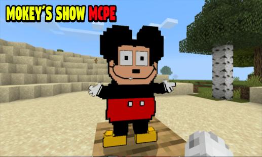 Addon Mockeys Show for Minecraft PE 7.7 APK + Mod (Free purchase) إلى عن على ذكري المظهر