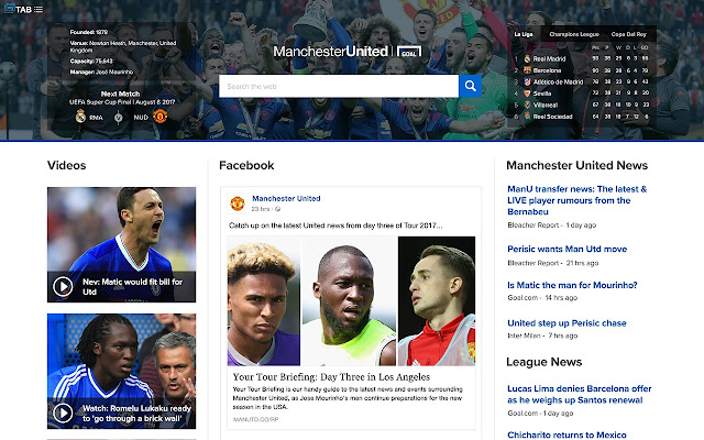 """Manchester United News Center"