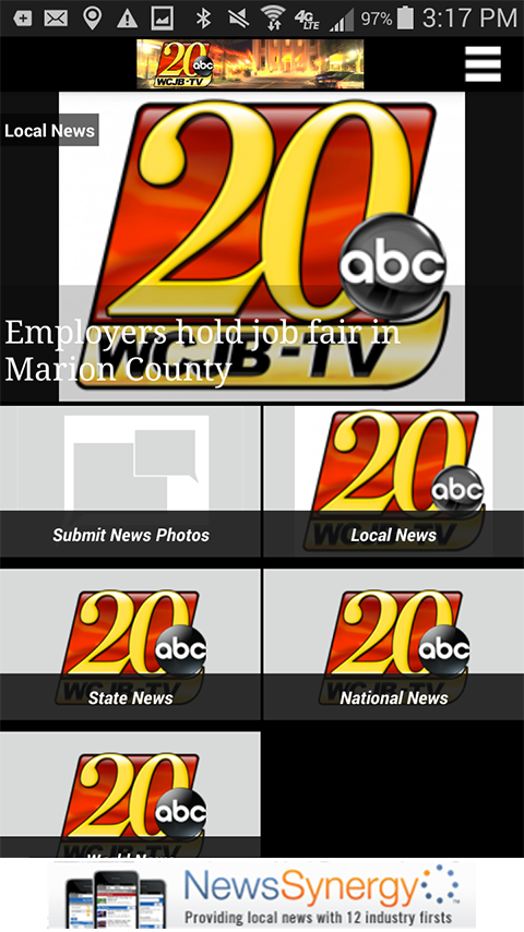TV20 Mobile- screenshot