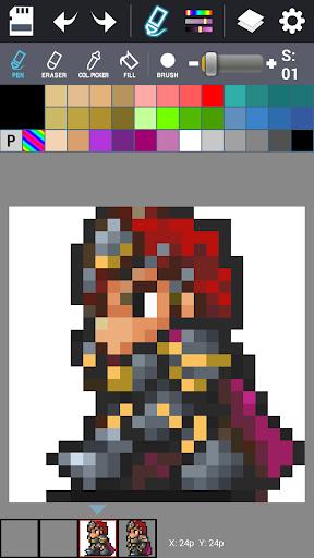 Dot Maker - Pixel Art Painter screenshot 3