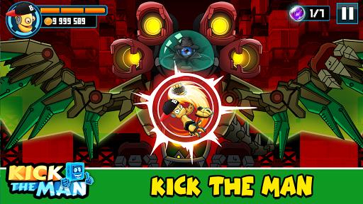 Kick the Man - jeu gratuit d'action platformer  captures d'écran 2