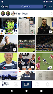 Sale Sharks Official Video App - náhled