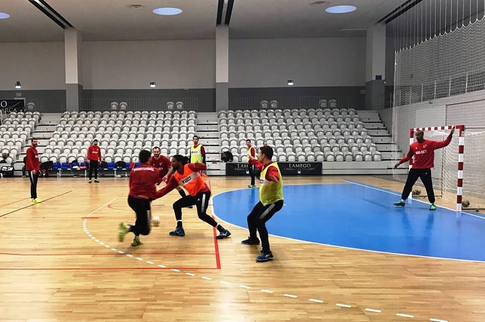 Seleção Nacional de Andebol prepara jogo particular em Lamego