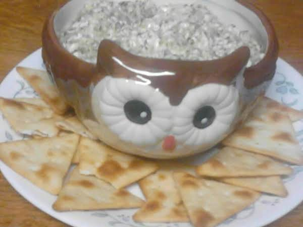 I Love This Dip With Pita Chips! Any Flavor Cracker Or Chip Or Even Vegetables Chopped Up Is Delicious With This Dip.
