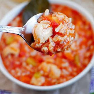 Slow Cooker Chicken Gumbo Soup.
