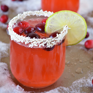 Non-Alcoholic Cranberry Lime Spritzer