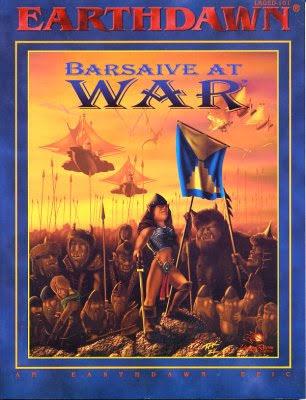 EARTHDAWN: BARSAIVE AT WAR
