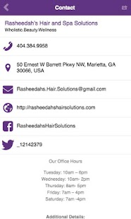 Rasheedah's Hair Solutions- screenshot thumbnail