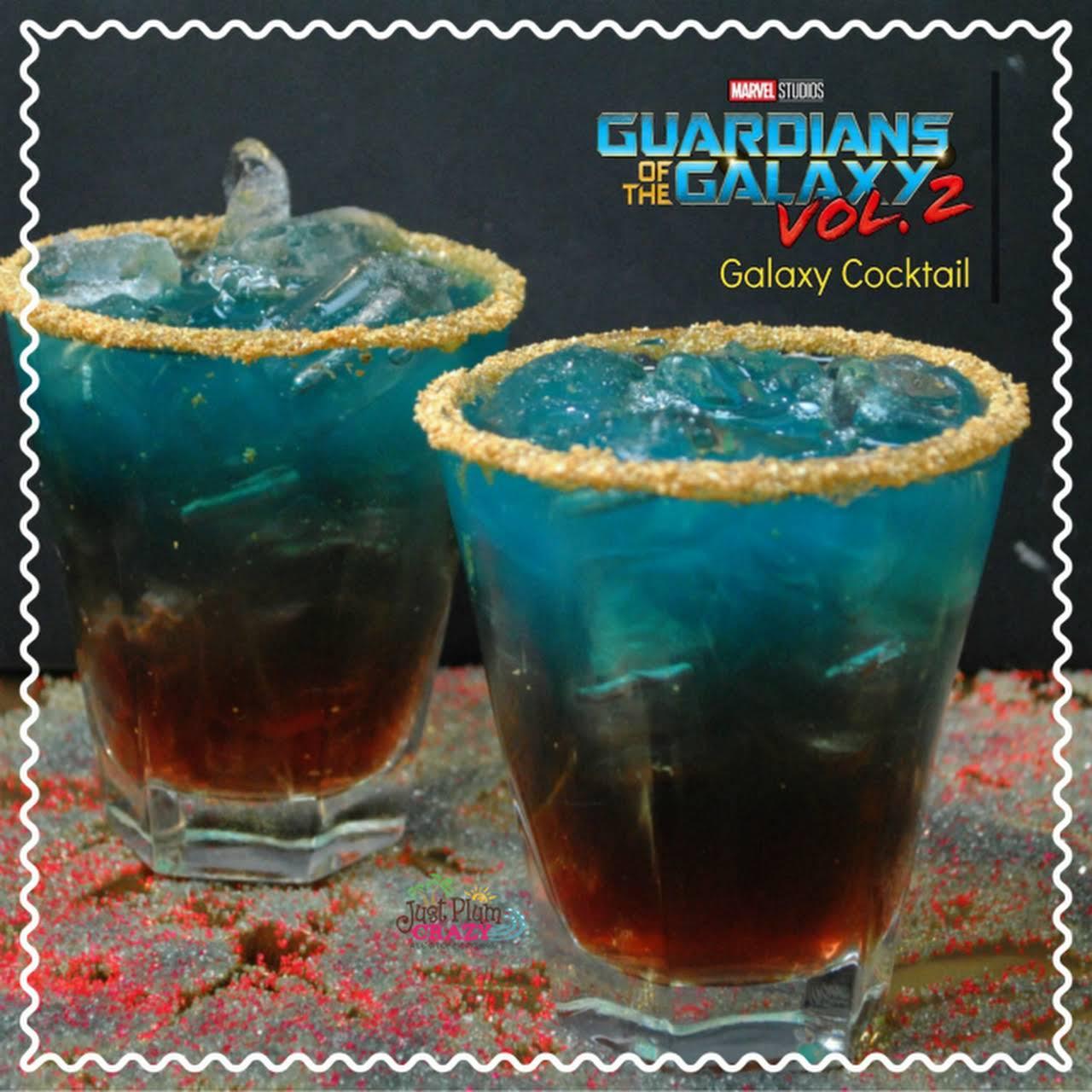 Guardians of the Galaxy Vol. 2 Galaxy Cocktail Recipe #GotGVol2