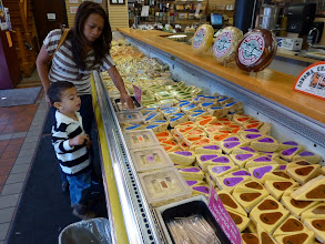 Photo: Dulce wanted a place where we could sample cheeses, like in Amana Colonies, Iowa