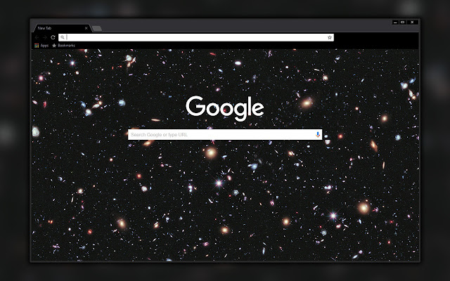 Deep Space Map Black Theme Chrome Web Store - Space map