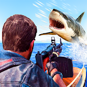 Under Water Angry Shark Sniper Shooter
