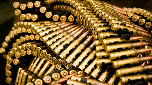 Bullets and ammunition. HDLWP