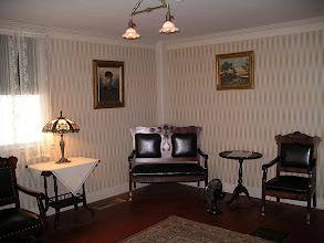 Photo: the Shapiro's parlor