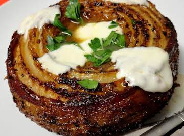 Smoked Bacon Wrapped French Vidalia Onion