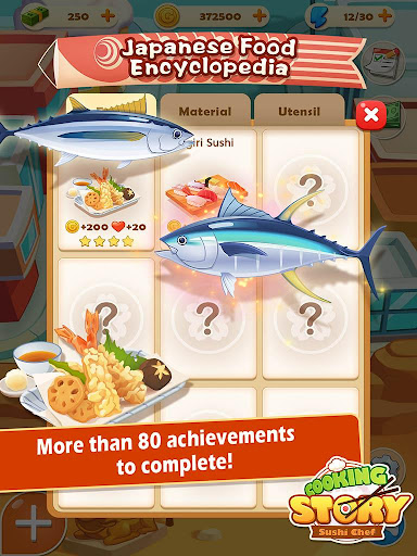 Sushi Master - Cooking story  captures d'u00e9cran 11