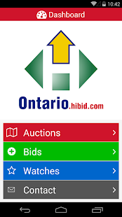 Ontario HiBid- screenshot thumbnail