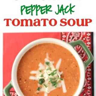 Crockpot Pepper Jack Tomato Soup Recipe!